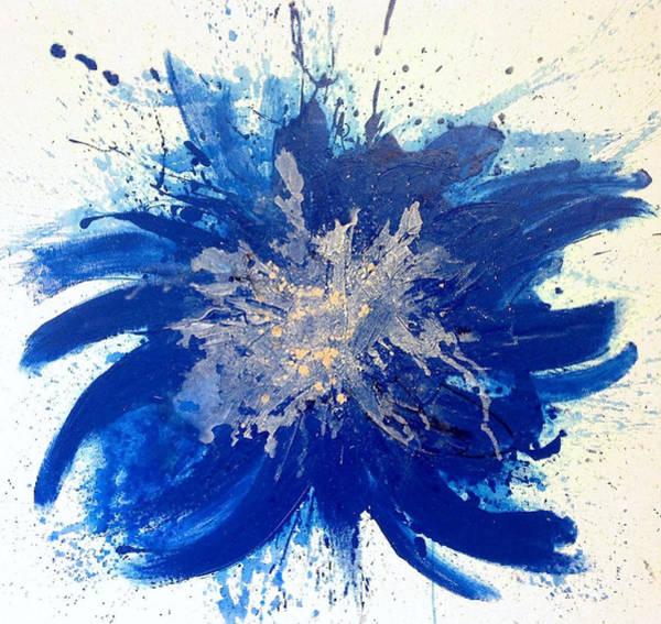 Acrilic Painting - Iris by Maria Angelica Correra