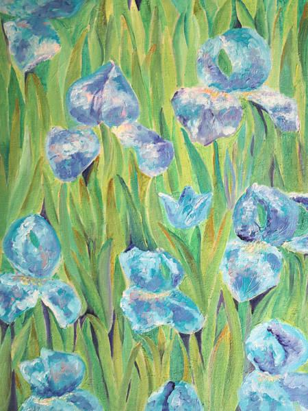 Painting - Irises by Elizabeth Lock
