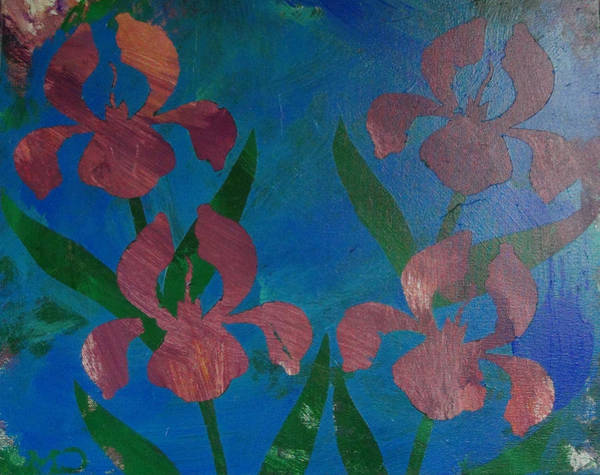 Painting - Irises by Candace Shrope