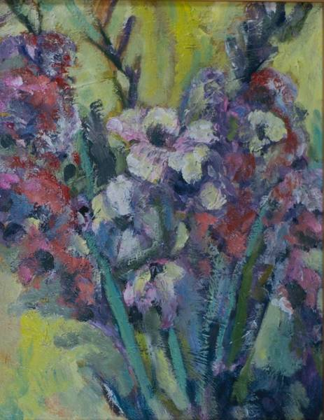 11x14 Painting - Glads by Ronnie Brickey
