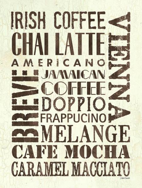 Mocha Painting - Irish Coffee by Debbie DeWitt