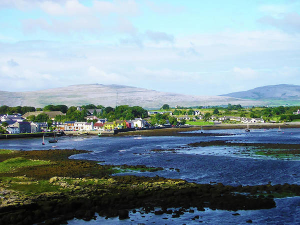 Gaelic Photograph - Irish Fishing Village by Bill Cannon