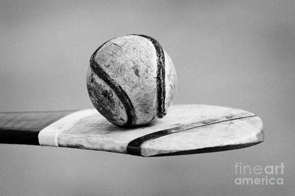 Gaelic Photograph - Irish Hurling Ball And Stick by Joe Fox