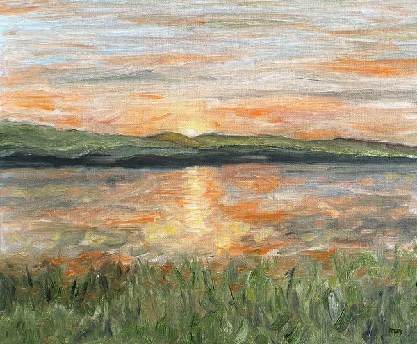 Donegal Painting - Irish Landscape 14 by Patrick J Murphy