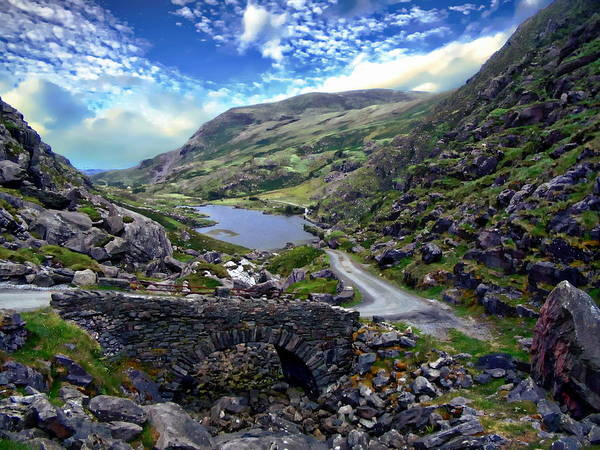 Photograph - Irish Landscape Scene by Anthony Dezenzio
