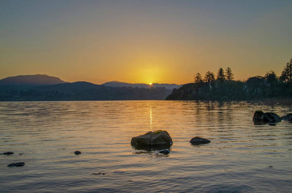 Photograph - Irish Sunrise - Locke Eske - Donegal by Bill Cannon