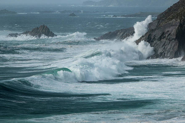 Dingle Peninsula Wall Art - Photograph - Irish Waves by Nicole Robinson