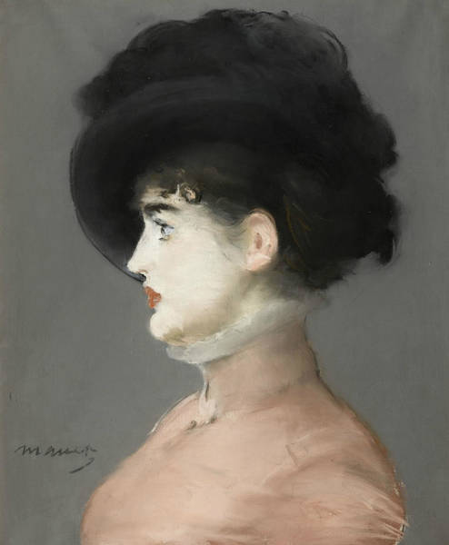 Pastel - Irma Brunner by Edouard Manet