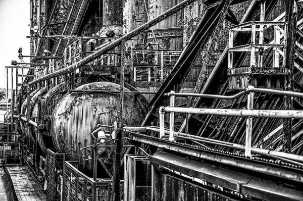 Photograph - Iron Age - Bethelehem Steel Mill by Bill Cannon