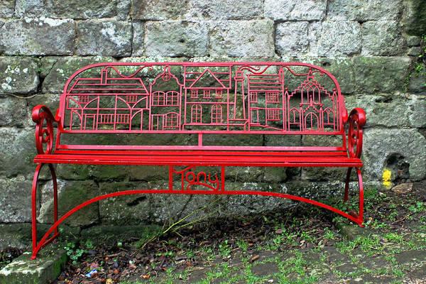 Photograph - Iron Bench by Tony Murtagh