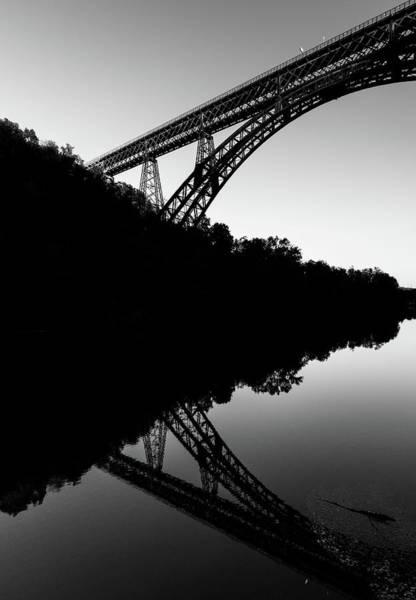 Photograph - Iron Bridge Reflection by Alexandre Rotenberg