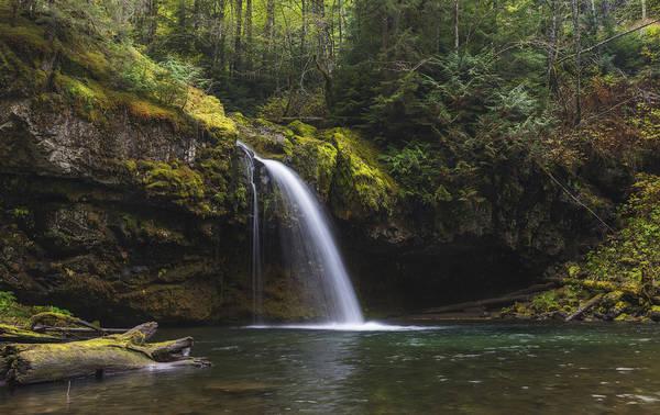 Fairy Pools Photograph - Iron Creek Falls by Loree Johnson