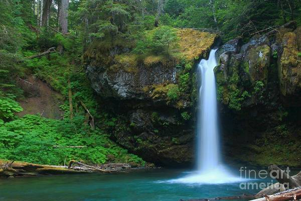 Wall Art - Photograph - Iron Creek Falls by Winston Rockwell