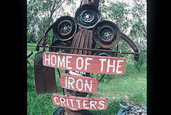 Visual Language Photograph - Iron Critter by The Signs of the times Collection