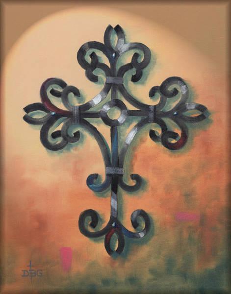 Digital Art - Iron Cross by David Bader