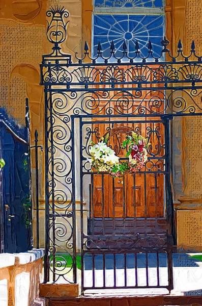 Photograph - Iron Gate by Donna Bentley