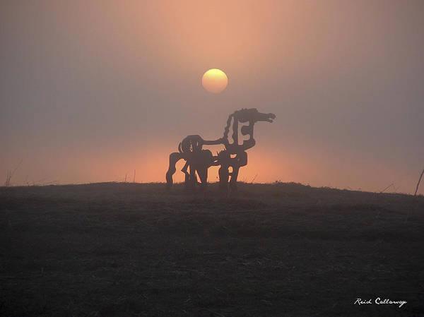 Photograph - Iron Horse Friends by Reid Callaway