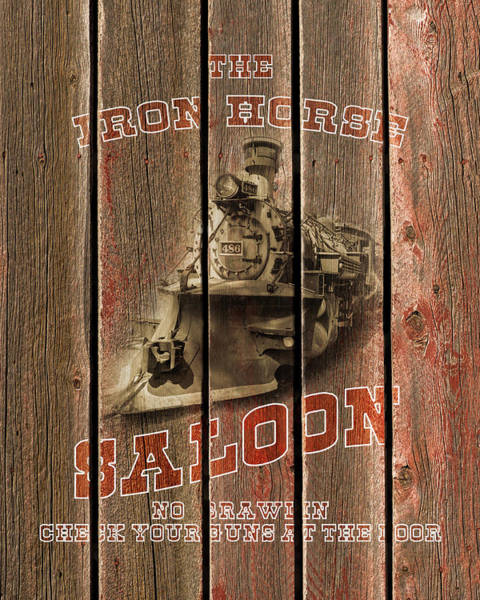 Photograph - Iron Horse Saloon by TL Mair