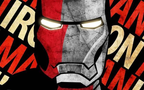 Color Digital Art - Iron Man by Maye Loeser