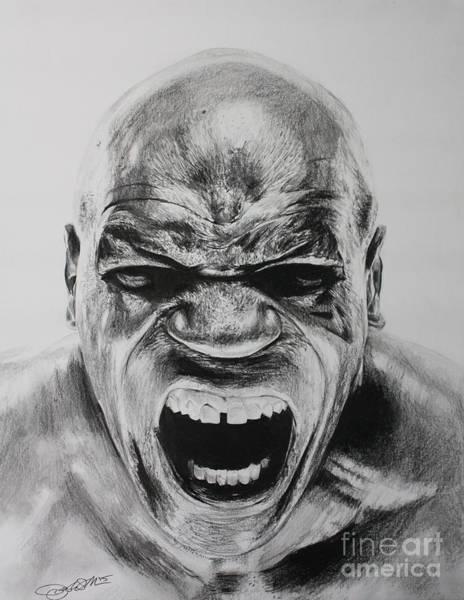 Iron Drawing - Iron Mike by Joshua Navarra