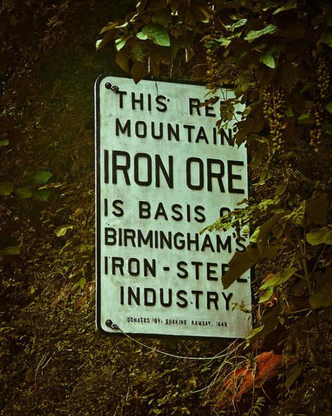 Photograph - Iron Ore Seam by Just Birmingham
