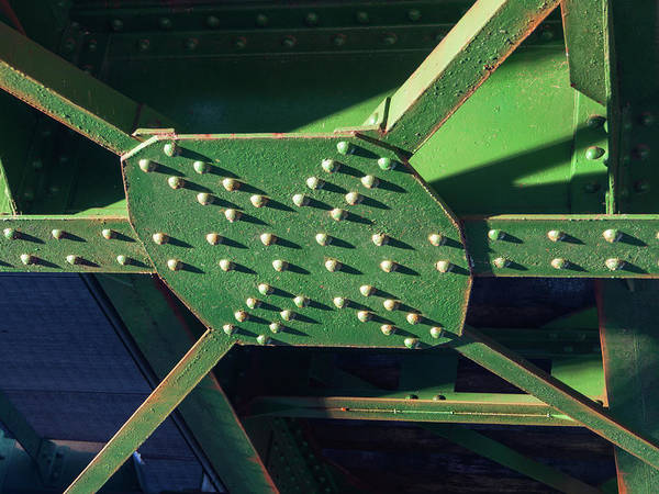 Photograph - Iron Rail Bridge by Giovanni Bertagna
