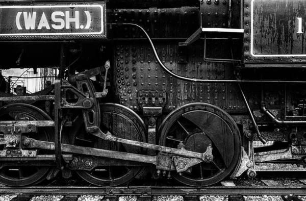 Photograph - Iron Wheels by Mark Kiver