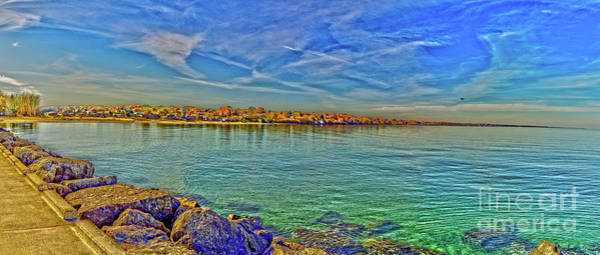 Photograph - Irondequoit Shoreline by William Norton