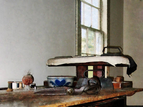 Photograph - Ironing Day by Susan Savad