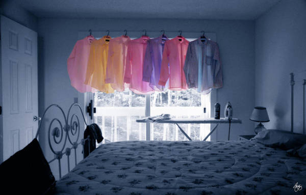 Photograph - Ironing Use To Make Me Blue by Wayne King