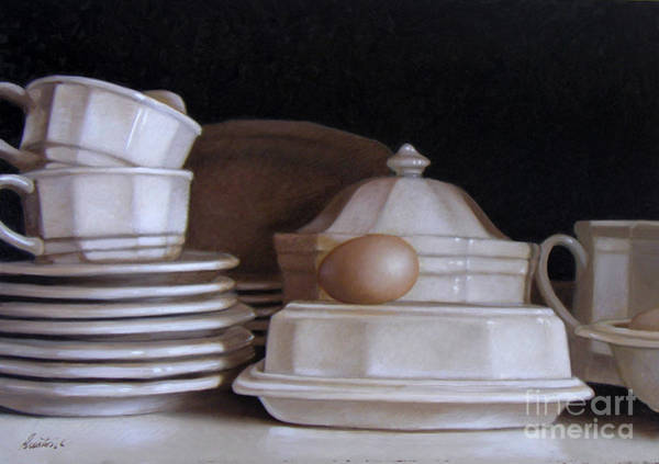 Wall Art - Painting - Ironstone by Lawrence Preston
