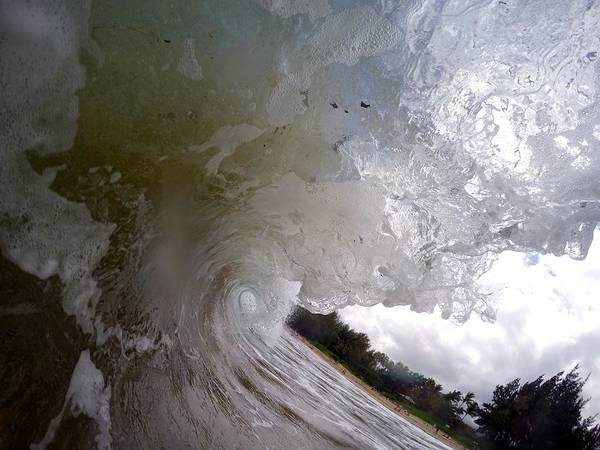 Bodyboard Photograph - Ironwood Wave by Benen  Weir
