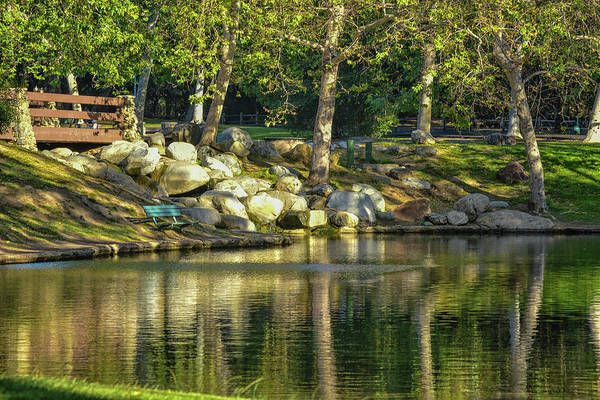 Wall Art - Photograph - Irvine Park Lake 1 by Linda Brody