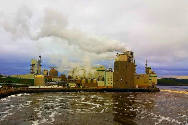 Photograph - Irving Pulp Mill #3 by Michael Graham