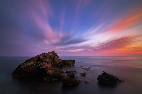 Tramonto Photograph - Is Arutas At Sunset by Massimo Serra