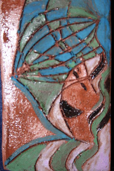 Painting - Is That My Hat Tile by Gloria Ssali