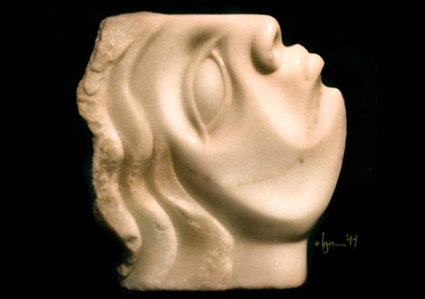 Sculpture - Isabella by Angela Treat Lyon