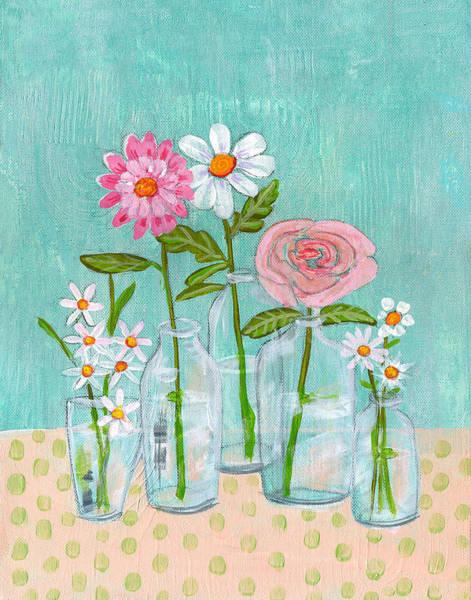 Wall Art - Painting - Isabella Rose Flowers by Blenda Studio