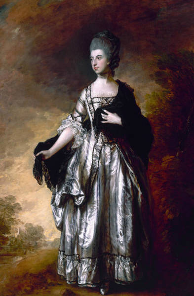 Painting - Isabella Viscountess Molyneux Later Countess Of Sefton by Thomas Gainsborough