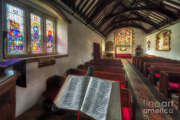 Bible Photograph - Isaiah 59 by Adrian Evans