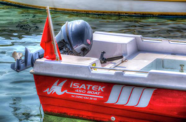 Wall Art - Photograph - Isatek 450 Boat by David Pyatt