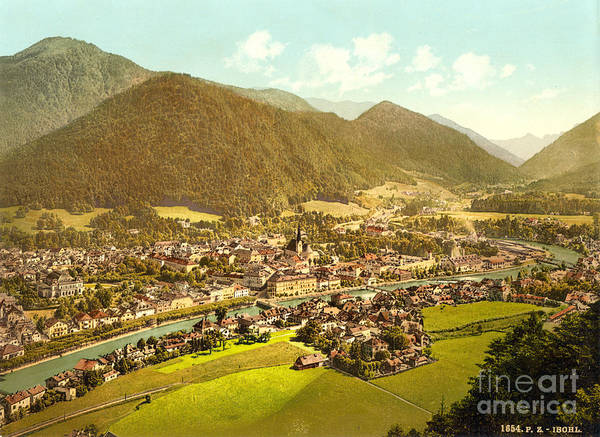 Painting - Ischl Upper Austria by Celestial Images