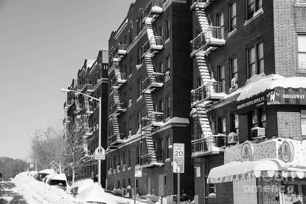 Photograph - Isham Street Winter by Cole Thompson