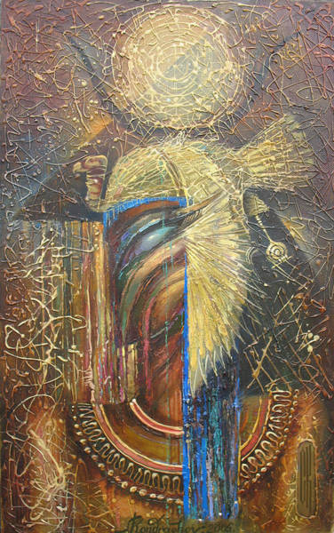 Painting - Isis. Egyptian Goddess by Valentina Kondrashova