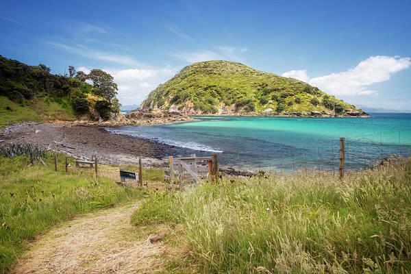 Wall Art - Photograph - Island Bay Great Barrier Island New Zealand by Joan Carroll