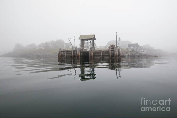 Photograph - Island Boat Dock by Tom Cameron