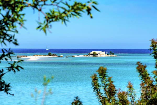 Photograph - Island Church In The Sea Near Lefkada, Greece by Global Light Photography - Nicole Leffer