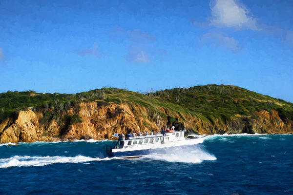 Photograph - Island Cruising by Greg Norrell