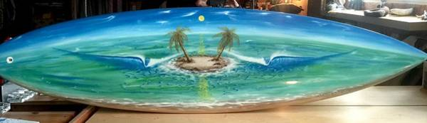 Painting - Island Dream  by Paul Carter