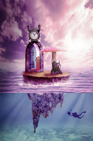 Wall Art - Digital Art - Island Dreaming by Nathan Wright